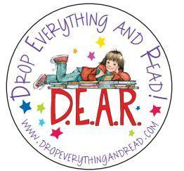 drop everything and read day logo
