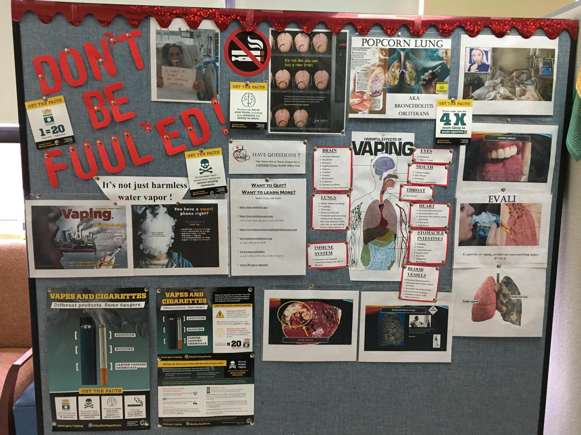 Vaping Bulletin Board