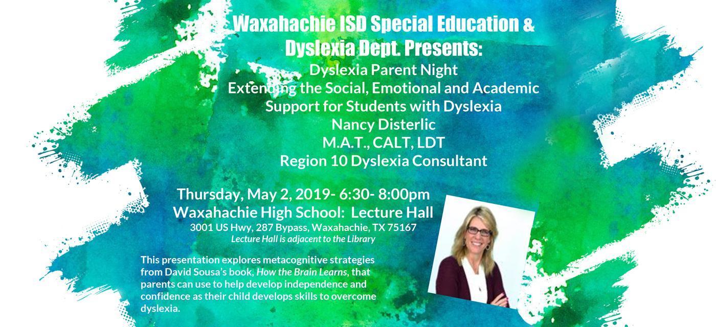 Special Education Dyslexia