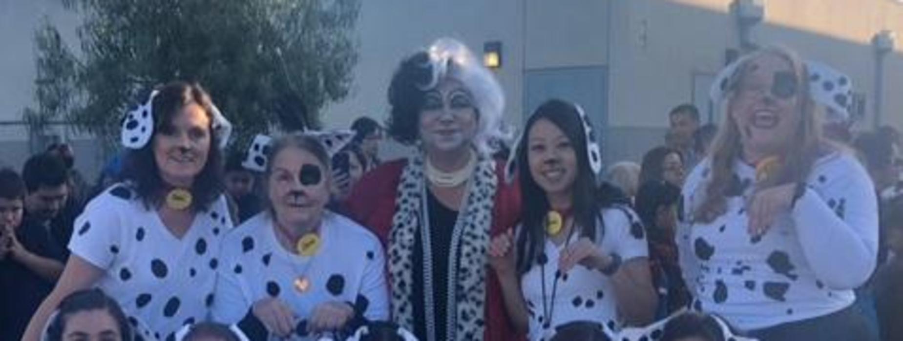 Marguerita Faculty during Halloween