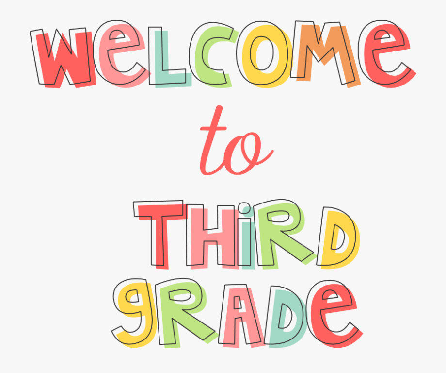 Pic of Welcome to Third Grade