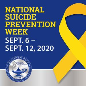 BPUSD's Board of Education has designated Sept. 6 through Sept. 12 as Suicide Prevention Week.