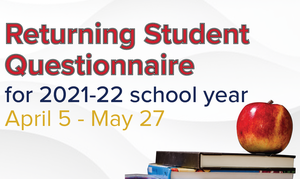 Returning Student Questionnaire