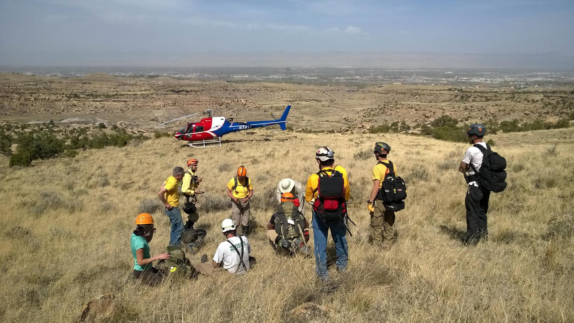 Mesa County Search and Rescue at Horsethief Bench