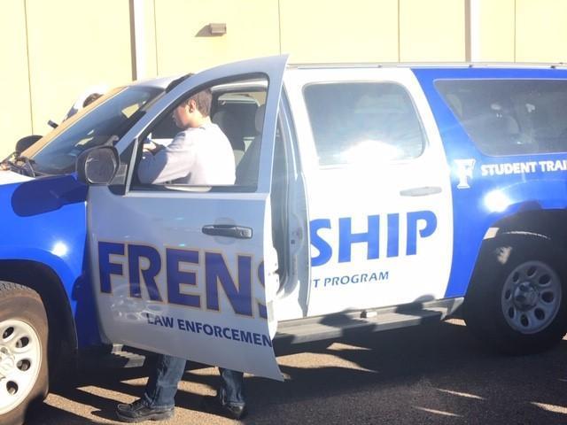 law enforcement training vehicle