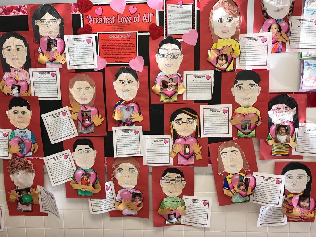 greatest love all art and writing activity display