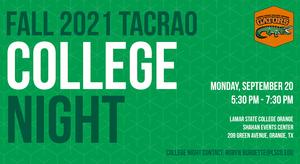 College Night TACRAO