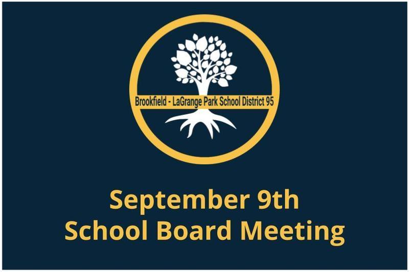 September 9th School Board Meeting