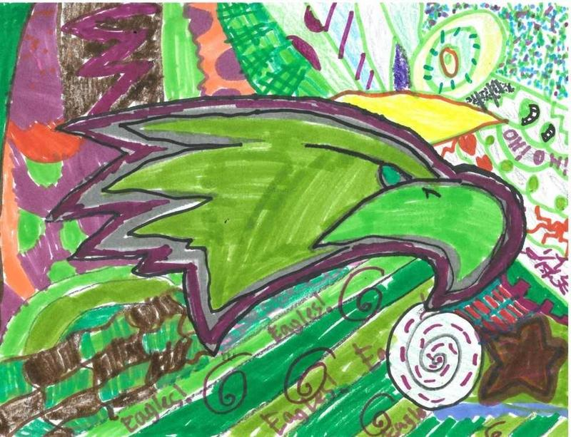 Eagles Logo with added Art
