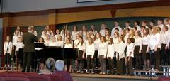 Middle School Choir Image