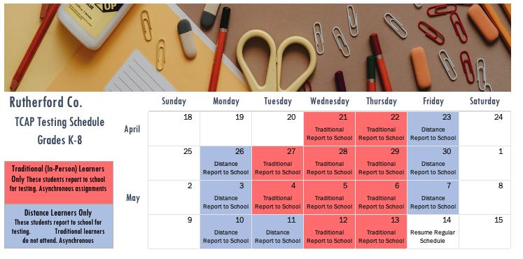 Testing Schedule Thumbnail Image