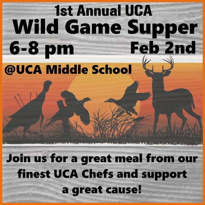 1st Annual UCA Wild Game Supper Featured Photo