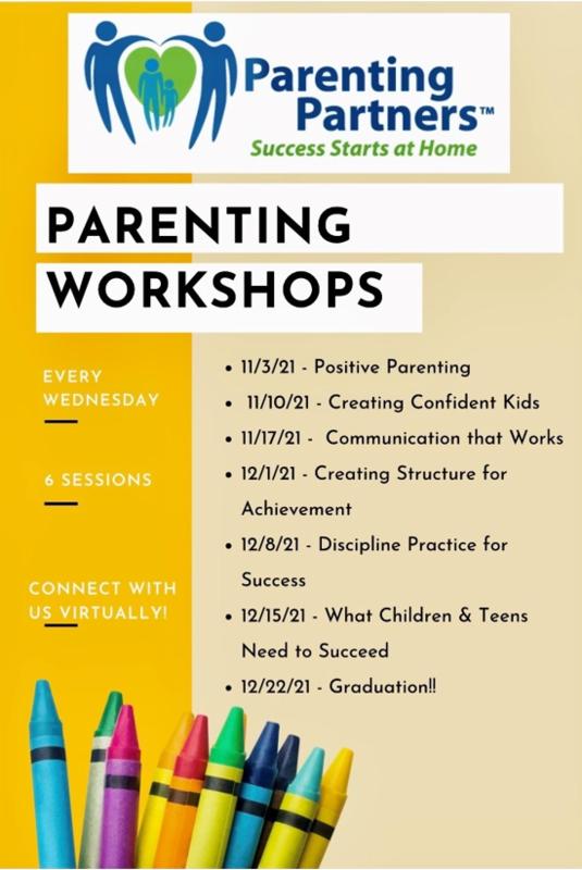 parenting partners schedule flyer
