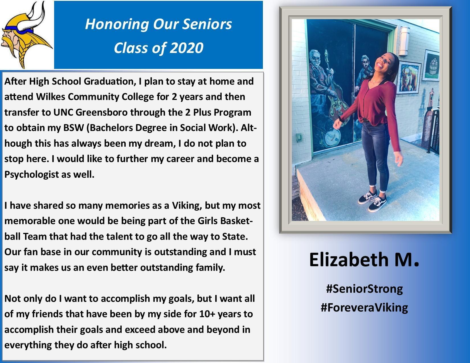 Elizabeth M