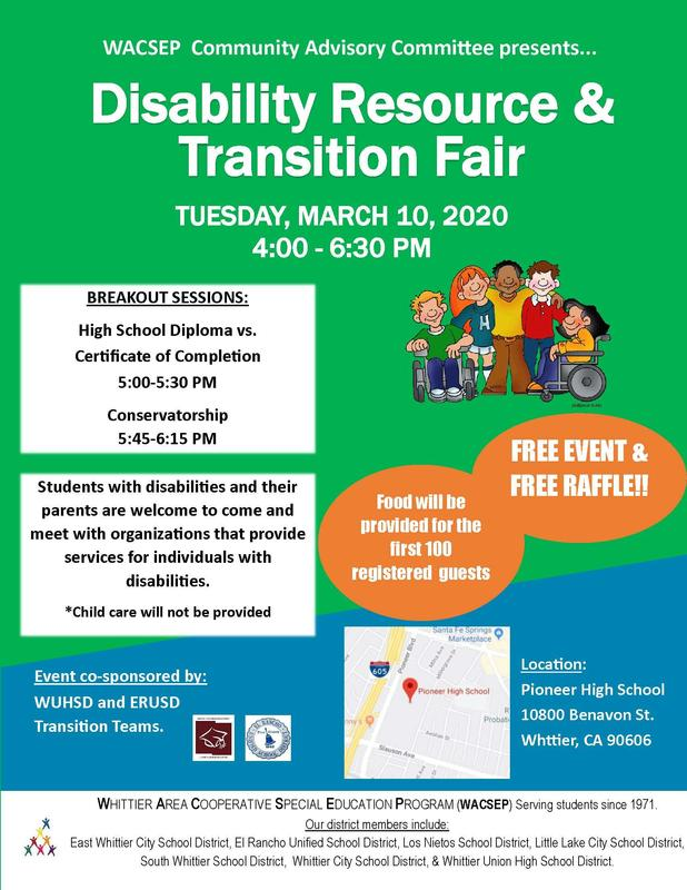 Disability Resource & Transition Fair