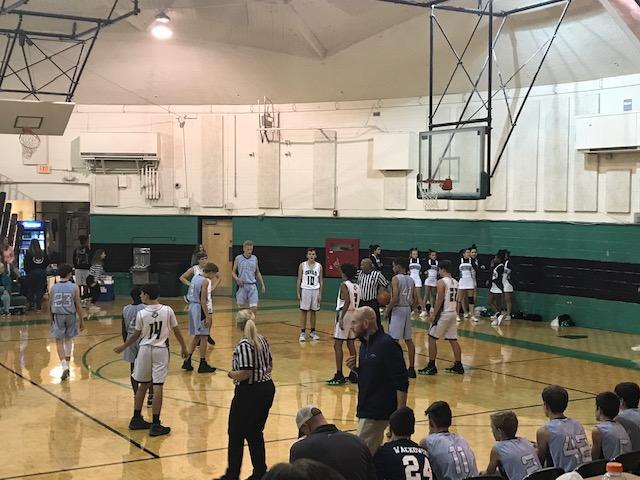 2018-2019 GMS Boys Basketball