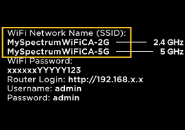 Spectrum SSID