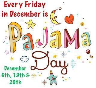 PJs every Friday in December! Featured Photo