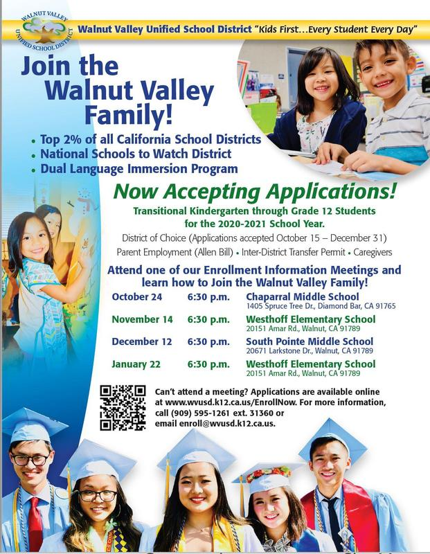 Tell a Friend About WVUSD! Featured Photo