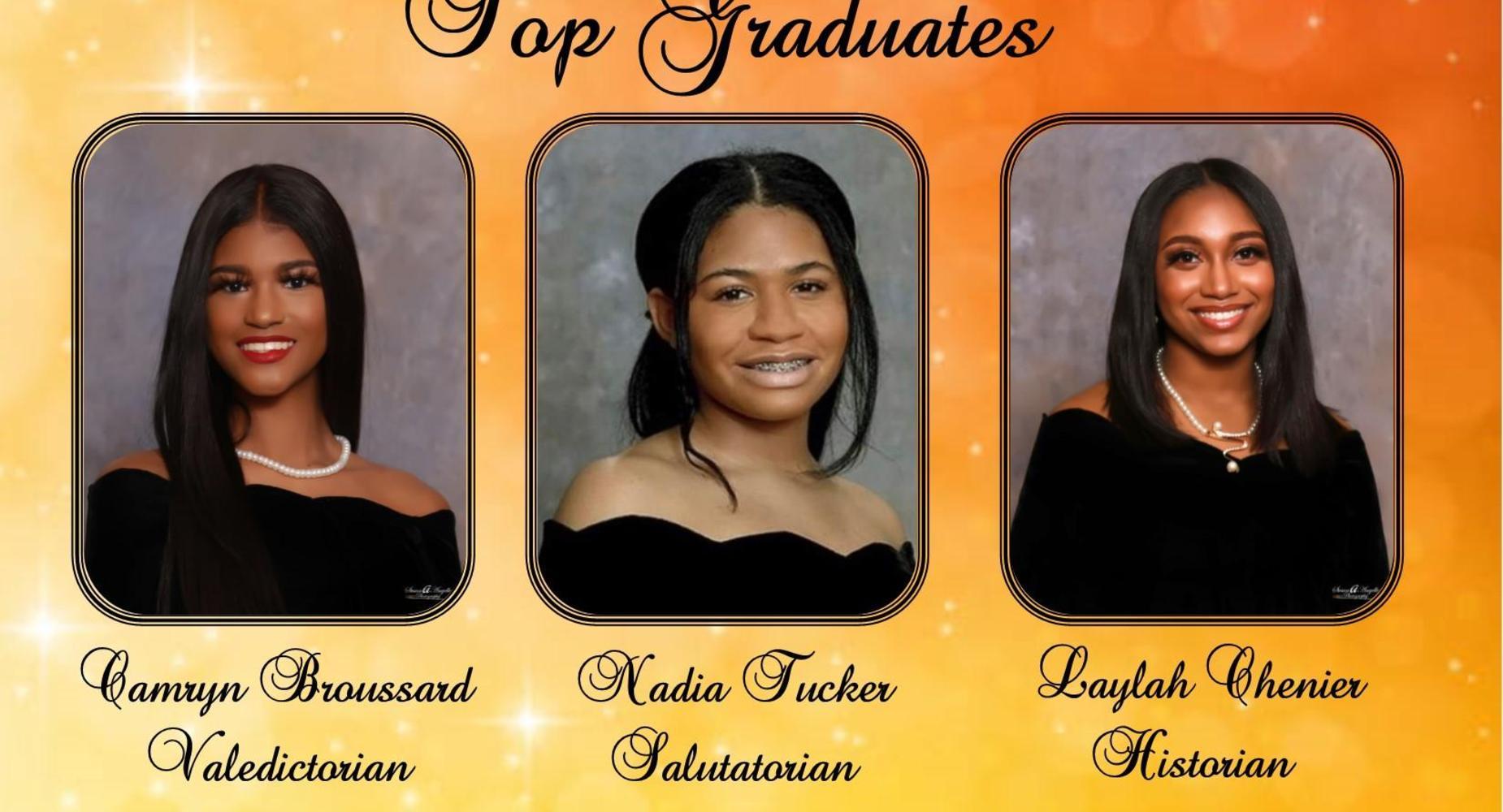 OHS Top Graduates