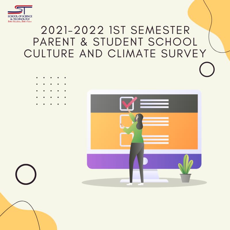 21-22 1st Semester Parent & Student School Culture and Climate Survey Featured Photo