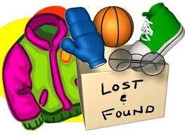 Picture of Lost and Found items