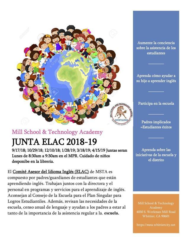 ELAC Flyer