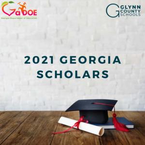 2021 Georgia Scholars Graphic