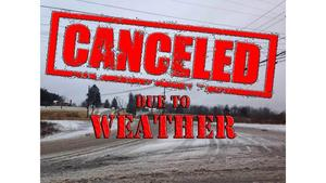 Events Canceled Due to Weather