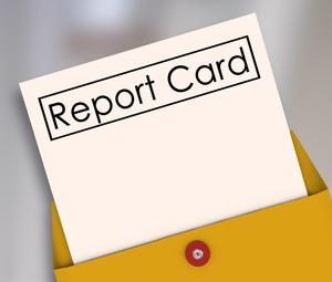picture of report card