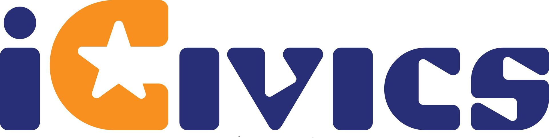 """iCivics text logo with a lower-case """"i"""""""