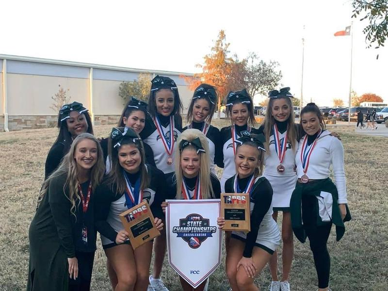 LSA Cheer Finishes 2nd at TAPPS State Cheer Thumbnail Image