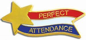 banner that says perfect attendance