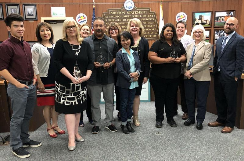 ESUSD Honors 2018-2019 Classified Employees of the Year Featured Photo
