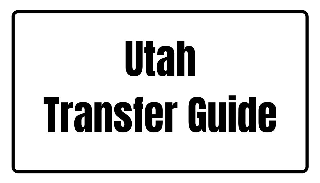Utah Transfer Guide