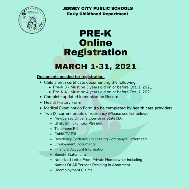 It's time to register your child for Pre-K! Featured Photo