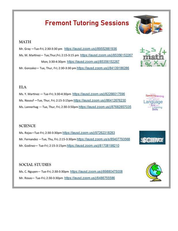 Tutoring for Students/ Tutoria para estudiantes Featured Photo