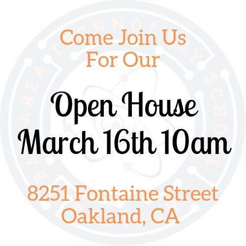 Open House -  March 16th Thumbnail Image