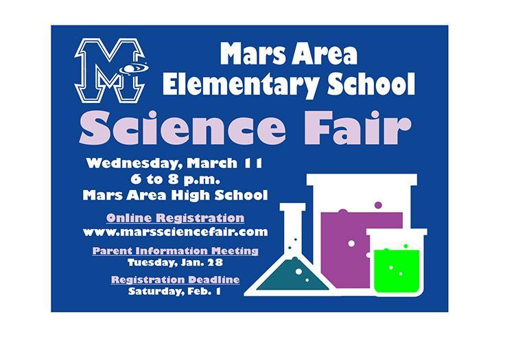 Mars Area Elementary School Science Fair