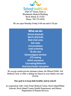 School Physicals Featured Photo