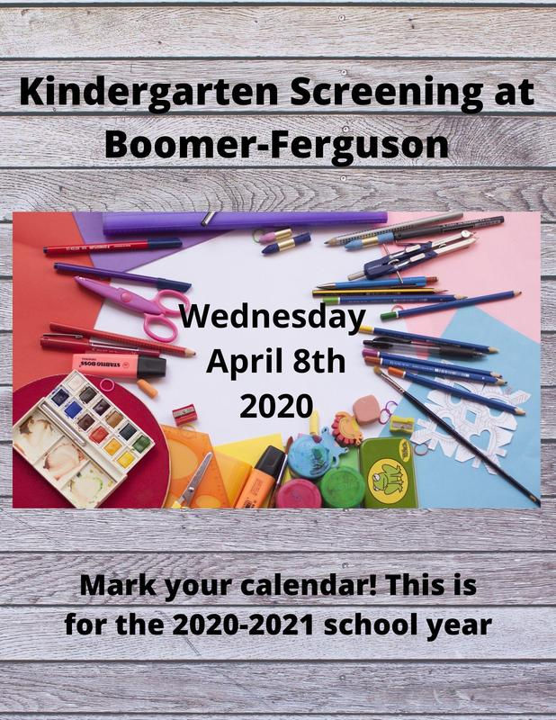 Kindergarten screening on April 8th 2020 at BFES