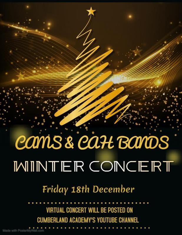CAMS & CAH Bands - Winter Concert Featured Photo