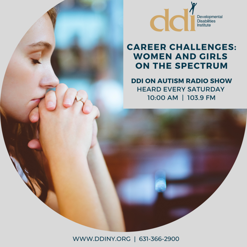 Young woman - DDI Radio Show Announcement