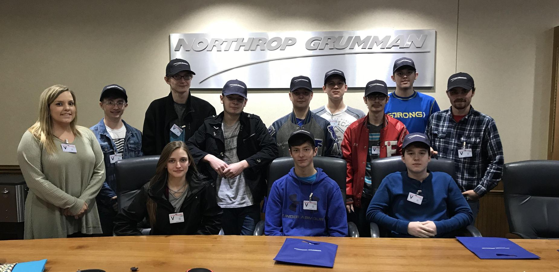 Career & Technical Center Engineering Year 2 Visits Northrop Grumman