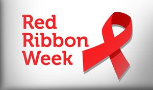 Red Ribbon that says Red Ribbon Week