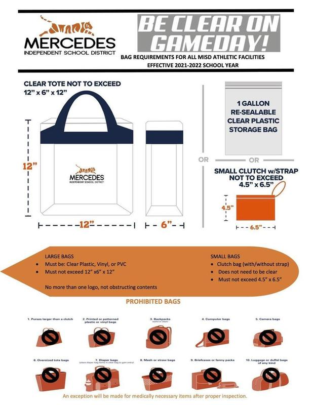 MISD Athletic Facilities Clear Bag Policy Featured Photo