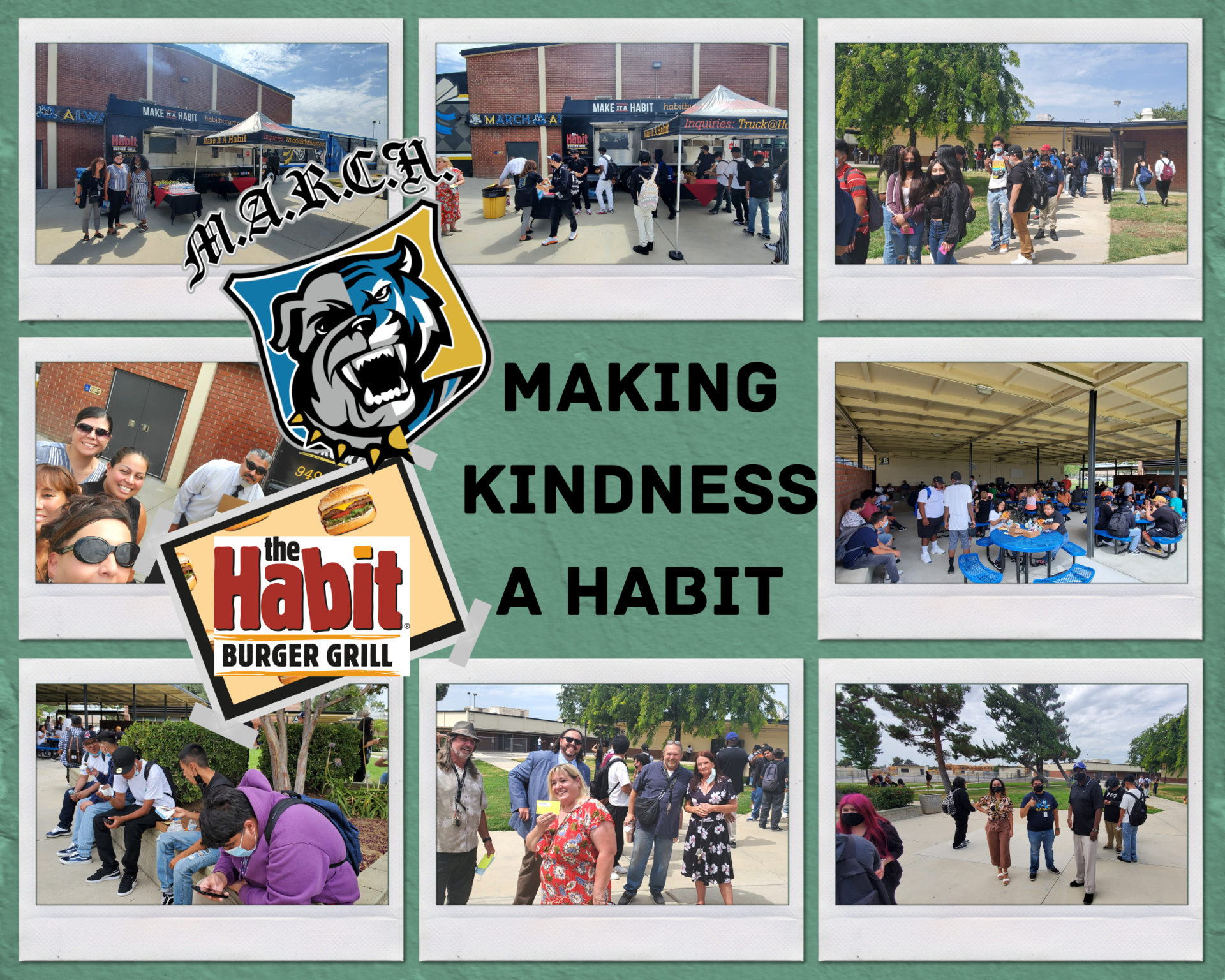 Making Kindness a Habit Event Photo Collage