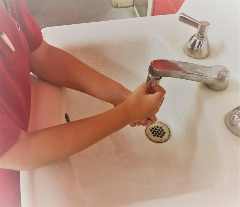 WLE Hand Washing Photo