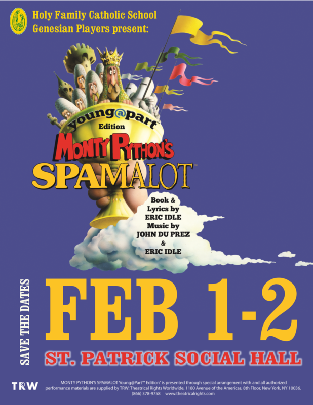 Monty Python's Spamalot Tickets On Sale Now! Featured Photo