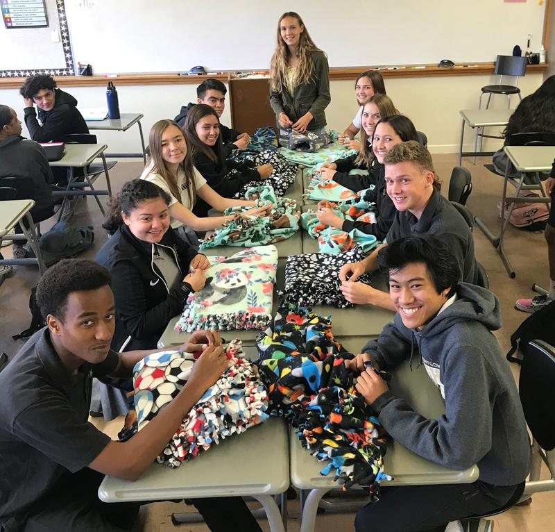 Students Work Together to Make the Holidays Brighter Thumbnail Image